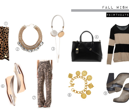 [monday must-haves] birthday edition