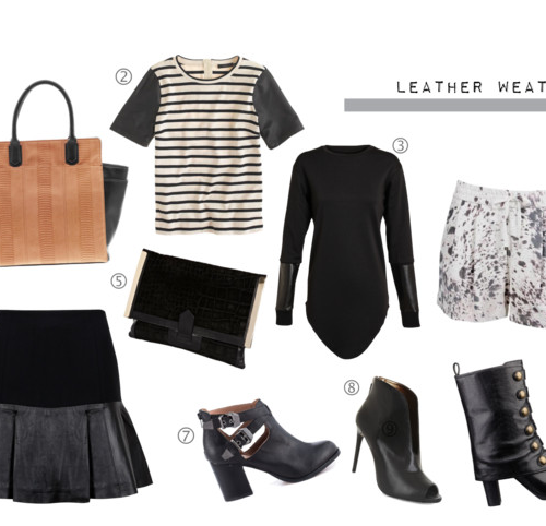 [monday must-haves] leather weather