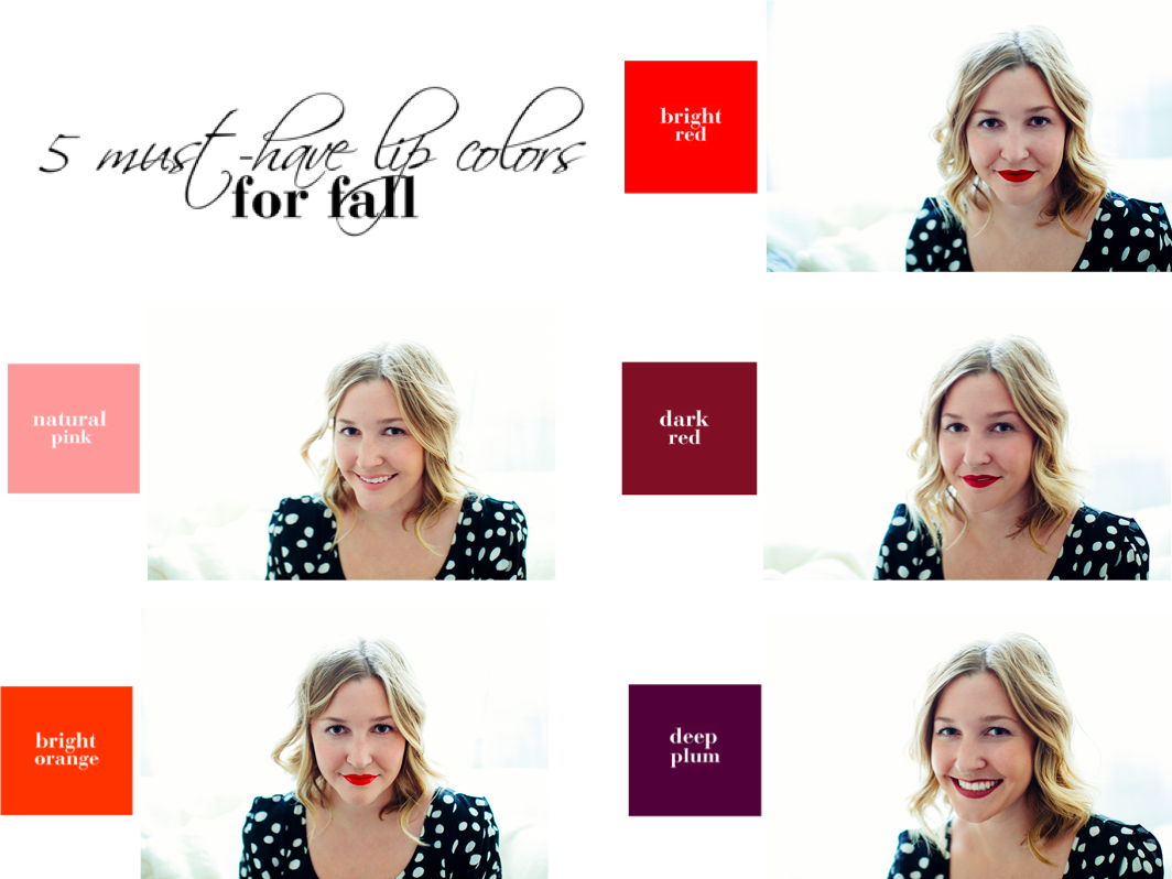 district sparkle 5 must-have lip colors for fall