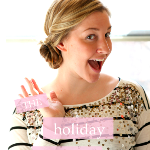 [how to] holiday chignon