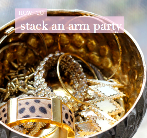 [how to] stack an arm party