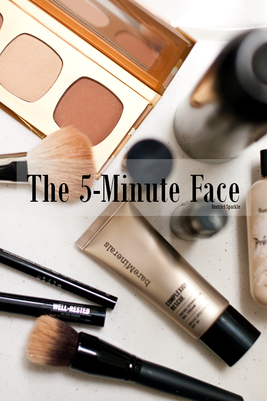 The 5 Minute Face Meaghan Moynahan District Sparkle